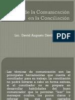 Teoría de La Comunicación en La Conciliación