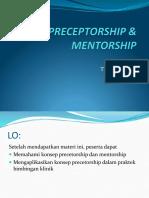 Preceptorship & Mentorship 2015