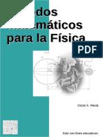 Métodos Matemáticos de La Física - Oscar a. Reula