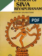 The Vision of Siva in Periyapuranam