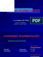 6 Introduction to Autonomic Pharmacology