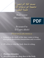 Basic Pharmaco Kinatic