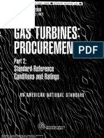 ASME 3977-2-2000 Gas Turbines - Std Ref