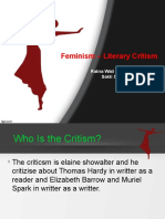 Feminism – Literary Critism