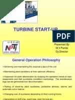Turbine Operation- Preparation