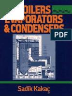 Boilers, Evaporators, And Condensers