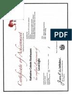 chj the registry certificate