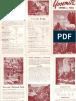 Yosemite brochure (trifold)
