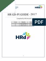 HRD Compendium 2017