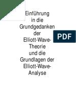 Bock, Robert - Einführung in Die Grundgedanken Der Elliott-Wave-Theorie