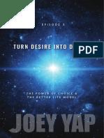 JY Episode 3 Turn Desire into Destiny