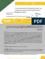 REIRE Aprender a Votar Con Las Elecciones Al Parlamento Europeo