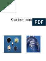 Reacciones Quimicas I-2015