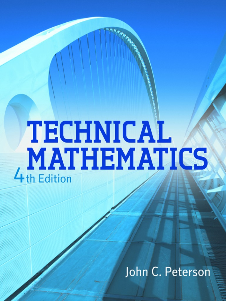 Technical Mathematics 4th Ed | Trigonometric Functions | Complex Number
