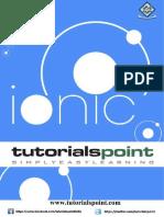 Ionic Tutorial