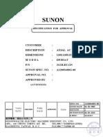 SUNON DP203AT 2122LBT.GN.155 (A12003480G-00)-1