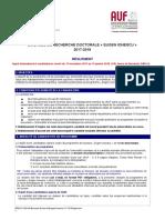 Règlement Bourses de Doctorat 4