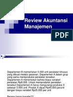 Review Akuntansi Manajemen