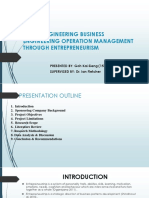 Value Engineering Business Engineering Operation Management (With Script)