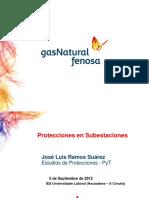 Protecciones Subestaciones Xunta Galicia