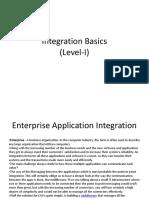 Integration Basics (Level-I)