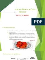 Planificación Minas a Cielo Abierto-ppt 1 -Proyecto Minas