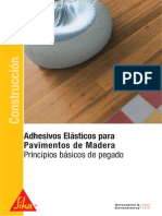 Adhesivos Elásticos Para pavimentos de madera