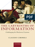 The Labyrinths of Information Challenging the Wisdom of Systems
