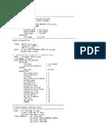 Generic Table Upload Program