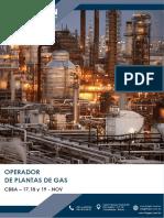 Brochure - Operación de Plantas de Gas