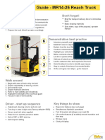 Demo Guide Yale Reach Truck 5 Sett