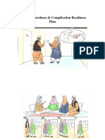 Flipchart Birth Preparedness and Complication Readiness (Text Included on the CHW Side), Afghanistan