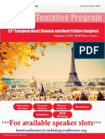 23rd European Heart Disease and Heart Failure Congress