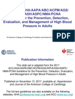 2017 Blood Pressure Guideline