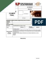 F-modelo de Examen Final - Ingles II
