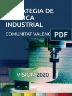 Estrategia Política Industrial de La Comunitat Valenciana Visión 2020