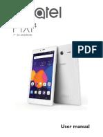 Alcatel Pixi 4 (7) Tablet - Alcatel Pixi 4 (7) Tablet User Guide
