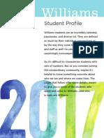 Williams College - Class of 2017's Profile