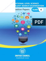 NSTSE Class 4 Previous Years Papers