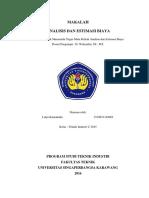 Lutpi Kamaludin_Makalah Analisis Dan Estimasi Biaya