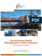 CEEW - Decentralised Waste Management in Indian Railways Jun16