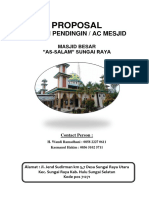 Proposal Masjid Assalam