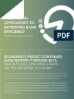 Improving Banking Efficiency