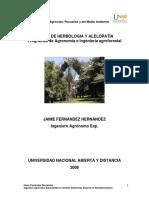 Módulo de Herbología y Alelopatía