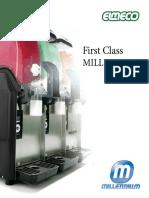 Elmeco FC2 Millennium Granita or Frozen Drink Slush Machine - 1stclassbeverage