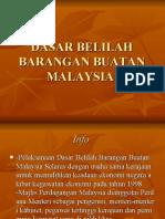 Dasar Belilah Barangan Buatan Malaysia