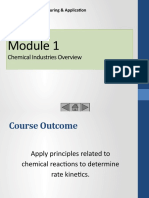 Module 1 Chemical Industry