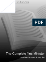 The Complete Yes Minister - Nigel Hawthorne.epub
