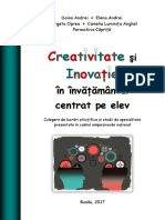 Carte Creativitate Si Inovatie in Inv. Centrat Pe Elev