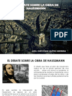 El Debate de La Orbraq de Haussmann